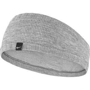 Nike Dri-Fit Seamless Headband Elastic Gray Pink